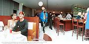 posh1. Posh Spice & David Beckham. Joey Ducane in blue. Jade Jagger party. St. Martin's Hotel, London. 20/9/99.  © Copyright Photograph by Dafydd Jones 66 Stockwell Park Rd. London SW9 0DA  Tel 0171 733 0108