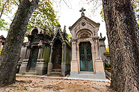 Pere Lachaise Cemetery is the largest cemetery in Paris and is notable for the final resting place for many celebrities, artists, writers and luminaries are buried including: Oscar Wilde, Isadora Duncan, Frederic Chopin, Colette, Balzac, Georges Bizet, Maria Callas, Edith Piaf, Marcel Proust, Moliere, Jim Morrison and many more.   The cemetery takes its name from King Louis XIV, Pere Francois de la Chaise.
