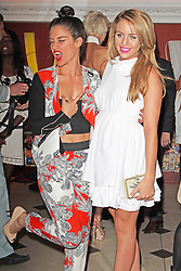 © London News Pictures. 05/06/2013 . London, UK.   Katie Waissel & Lydia Road Bright attending the Retro Feasts Launch Party. Photo credit : Brett D. Cove/PiQtured/LNP
