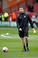 Lee Rikards during the English League One match at Bramall Lane Stadium, Sheffield. Picture date: April 17th 2017. Pic credit should read: Simon Bellis/Sportimage