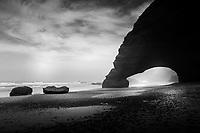 Rock Arch at Legzira, Morocco