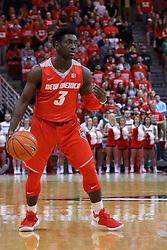 03 December 2016: Jordan Hunter  during an NCAA  mens basketball game between the New Mexico Lobos the Illinois State Redbirds in a non-conference game at Redbird Arena, Normal IL