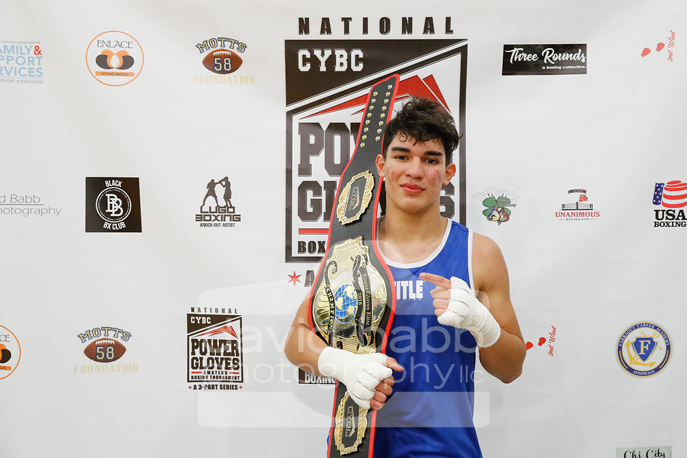 11-18 Champions from the 2018 Chicago Youth Boxing Club's national Tournament