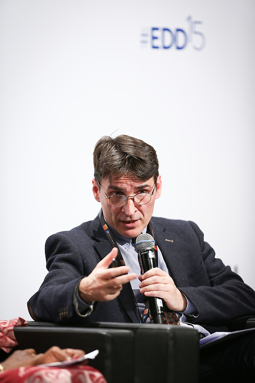 03 June 2015 - Belgium - Brussels - European Development Days - EDD - Urban - Sustainable cities - Good for the global North , but not the global South? - Paolo Ciccarelli , Head of Unit, Water, Energy, Infrastructures, Directorate-General for International Cooperation and Development, European Commission© European Union