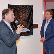 NLD/Utrecht/20190309 - Onthulling  Mies Bouwman Foyer, Albert Verlinde met Robert ten Brink