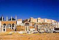 Basilica of St. John and Castle of St. John, Selcuk, Turkey