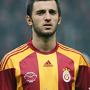 Galatasaray's Emre COLAK during their Friendly soccer match Galatasaray between Ajax at the Turk Telekom Arena at Arslantepe in Istanbul Turkey on Saturday 15 January 2011. Turkish soccer team Galatasaray new stadium Turk Telekom Arena opening ceremony. Photo by TURKPIX