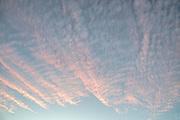Sunset Clouds, Ahwahnee, California 2017