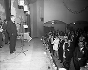 20/04/1970<br /> 04/20/1970<br /> 20 April 1970<br /> Tynagh Mines Dinner Dance at Loughrea, Co. Galway. Dave Fitzgerald  Manager, Tynagh, addresses the crowd.