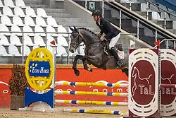 Thiry Ben, BEL, Radja van de Vrunte<br /> Pavo Hengsten competitie - Oudsbergen 2021<br /> © Hippo Foto - Dirk Caremans<br />  22/02/2021