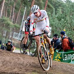 26-12-2019: Cycling: CX Worldcup: Heusden-Zolder: Toon Aerts defending his worldcup lead despite of  four broken ribs