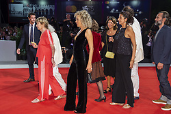 Jenny Bellay, Marisa Borini, Valeria Golino walk the red carpet ahead of Les Estivants (The Summer House) screening during the 75th Venice Film Festival at Sala Grande on September 5, 2018 in Venice, Italy. Photo by Marco Piovanotto/ABACAPRESS.COM