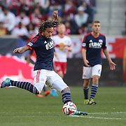 Jermaine Jones, New England Revolution, in action during the New York Red Bulls Vs New England Revolution, MLS Eastern Conference Final, first leg at Red Bull Arena, Harrison, New Jersey. USA. 23rd November 2014. Photo Tim Clayton