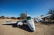 East Jesus, a privately owned artist colony and sculpture garden located inside Slab City.<br /> Slab City and the local environs.
