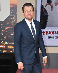 July 22, 2019 - Hollywood, California, USA - 22 July 2019 - Hollywood, California - Leonardo DiCaprio. ''Once Upon A Time In Hollywood'' Los Angeles Premiere held at The TCL Chinese Theatre. Photo Credit: Birdie Thompson/AdMedia (Credit Image: © Birdie Thompson/AdMedia via ZUMA Wire)
