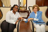 Dr. Sylvia Earle and Angelique Pouponneau