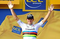 CYCLING - TOUR DE FRANCE 2011 - STAGE 7 - Le Mans > Châteauroux (218 km) - 08/07/2011 - PHOTO : JULIEN CROSNIER / DPPI - THOR HUSHOVD (NOR) / TEAM GARMIN - CERVELO