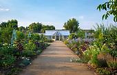 Ramsey Abbey Walled Kitchen Garden
