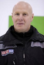 Assistant coach Bojan Zajc of HDD Tilia Olimpija before new season 2008/2009,  on September 17, 2008 in Arena Tivoli, Ljubljana, Slovenia. (Photo by Vid Ponikvar / Sportal Images)