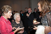 DAME NORMA MAJOR; TARA PALMER-TOMPKINSON, 80th anniversary gala dinner for the FoylesÕ Literary Lunch. Ballroom. Grosvenor House Hotel. Park Lane. London. 21 October 2010. -DO NOT ARCHIVE-© Copyright Photograph by Dafydd Jones. 248 Clapham Rd. London SW9 0PZ. Tel 0207 820 0771. www.dafjones.com.<br /> DAME NORMA MAJOR; TARA PALMER-TOMPKINSON, 80th anniversary gala dinner for the Foyles' Literary Lunch. Ballroom. Grosvenor House Hotel. Park Lane. London. 21 October 2010. -DO NOT ARCHIVE-© Copyright Photograph by Dafydd Jones. 248 Clapham Rd. London SW9 0PZ. Tel 0207 820 0771. www.dafjones.com.