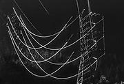 Power lines near Diablo, Washington, USA