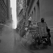 Pedestrians walk past The New York Stock Exchange (NYSE) in New York, U.S., on Thursday, Dec. 27, 2018. U.S. Photographer: John Taggart/Bloomberg