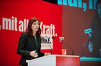 DEU, Deutschland, Germany, Potsdam, 05.03.2011:<br />Diana Golze, Abgeordnete der LINKEN im Bundestag, spricht auf dem Landesparteitag der Brandenburger Linken im Kongresshotel Potsdam.