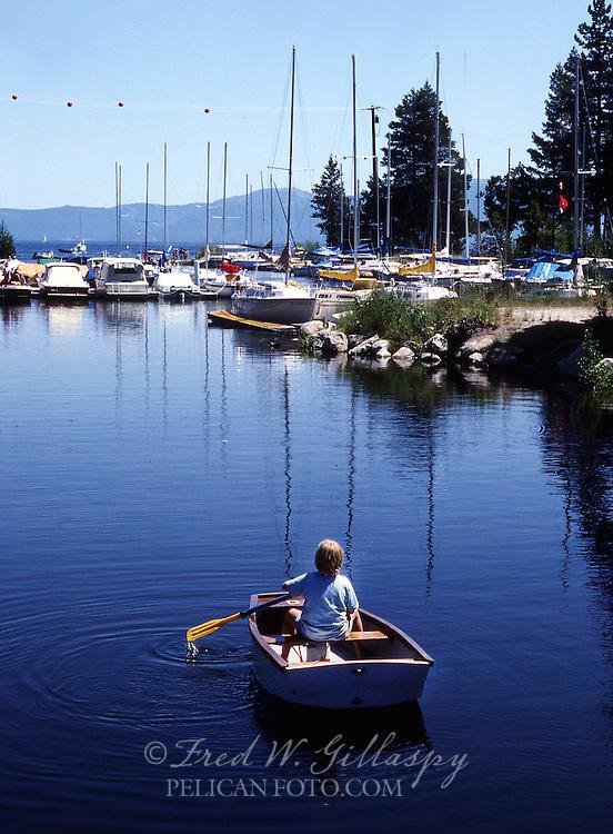 Little Sailor at Lake Tahoe