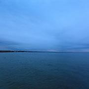 Today's Fall Sunrise  at Narragansett Town Beach, Narragansett, RI,  October  5, 2013. #fall #newengland #rhodeisland #beach #sunrise #waves