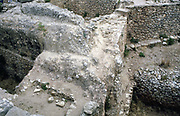 Ruins of prehistoric Greek city of Mycenea.  Home of Agamemnon and capital of Achaean Greeks c1450-c1100 BC.