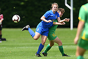 Southern United's Lena De Ronde in action in the National womens league football match, Central Football v Southern United, Massey University, Palmerston North, Sunday, December 02, 2018. Copyright photo: Kerry Marshall / www.photosport.nz