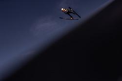 28.02.2019, Seefeld, AUT, FIS Weltmeisterschaften Ski Nordisch, Seefeld 2019, Skisprung, Herren, Qualifikation, im Bild Mackenzie Boyd-Clowes (CAN) // Mackenzie Boyd-Clowes of Canada during his Qualification Jump of men's Skijumping of FIS Nordic Ski World Championships 2019. Seefeld, Austria on 2019/02/28. EXPA Pictures © 2019, PhotoCredit: EXPA/ JFK