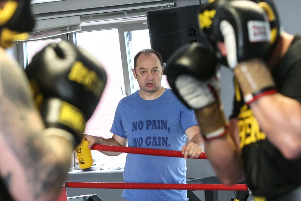 Boxen: EC Boxing, Training, Hamburg, 06.08.2020<br /> Erik Pfeifer<br /> © Torsten Helmke