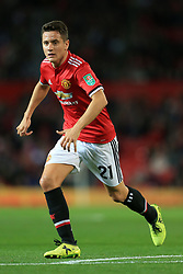 20th September 2017 - Carabao Cup (3rd Round) - Manchester United v Burton Albion - Ander Herrera of Man Utd - Photo: Simon Stacpoole / Offside.