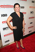 September 20, 2012- New York, New York:  Debra Lee, CEO & President, BET Networks attends the 2012 Urbanworld Film Festival Opening night premiere screening of  ' Being Mary Jane ' presented by BET Networks held at AMC 34th Street on September 20, 2012 in New York City. The Urbanworld® Film Festival is the largest internationally competitive festival of its kind. The five-day festival includes narrative features, documentaries, and short films, as well as panel discussions, live staged screenplay readings, and the Urbanworld® Digital track focused on digital and social media. (Terrence Jennings)