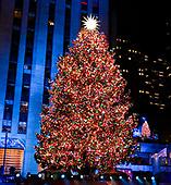 Rockefeller Center Christmas Tree Ceremony