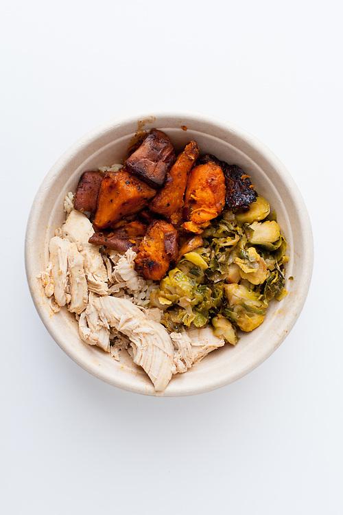 Chicken & VeggiesfromThe Dig Inn($10.75)