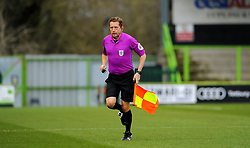 Linesmen prior to kick-off- Mandatory by-line: Nizaam Jones/JMP - 16/01/2021 - FOOTBALL - innocent New Lawn Stadium - Nailsworth, England - Forest Green Rovers v Port Vale - Sky Bet League Two