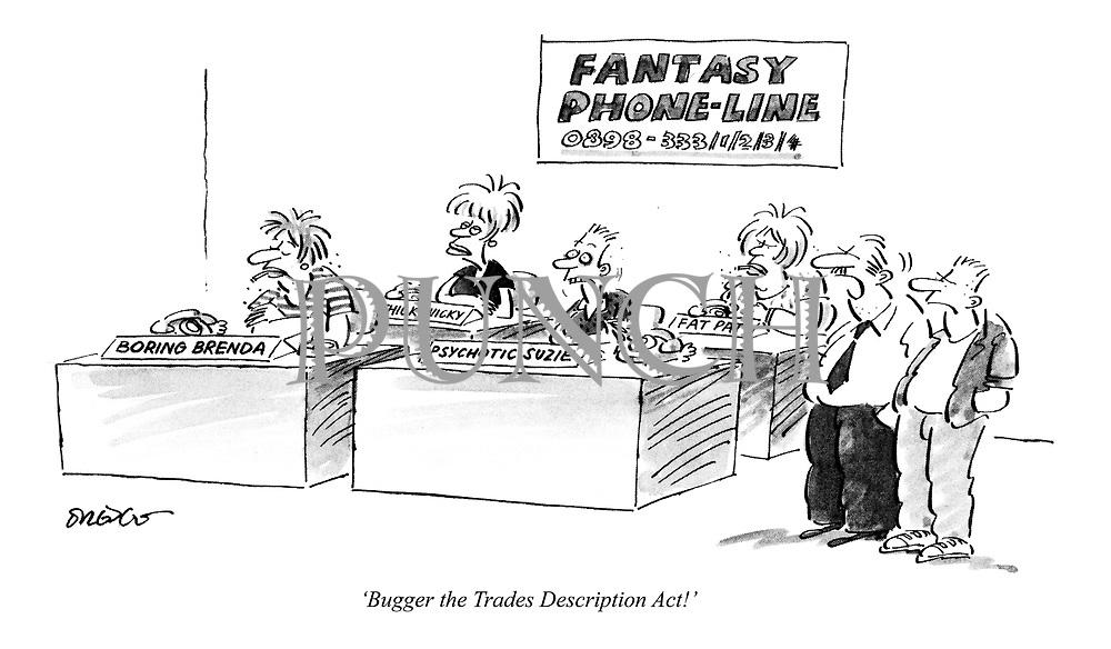 'Bugger the Trades Description Act!'