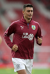 """Burnley's Matthew Lowton before the Premier League match at St Mary's, Southampton. PRESS ASSOCIATION Photo. Picture date: Sunday August 12, 2018. See PA story SOCCER Southampton. Photo credit should read: Andrew Matthews/PA Wire. RESTRICTIONS: EDITORIAL USE ONLY No use with unauthorised audio, video, data, fixture lists, club/league logos or """"live"""" services. Online in-match use limited to 120 images, no video emulation. No use in betting, games or single club/league/player publications."""