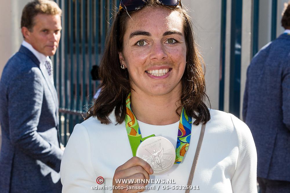 NLD/Den Haag/20160824 - Huldiging sport Rio 2016, Boksster Nouchka Fontijn