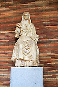 Ceres, goddess of agriculture, Museo Nacional de Arte Romano, national museum of Roman art, Merida, Extremadura, Spain
