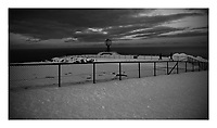 North Cape Monument. Northern most point in Norway. Image taken with a Nokia Lumia 900 cell phone. Image processed with Picasa and Google After Efects.