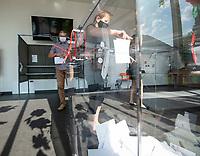 Orla, woj. podlaskie. 28.06.2020. Wybory prezydenckie 2020. N/z glosowanie fot Michal Kosc / AGENCJA WSCHOD