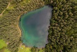 Luftaufnahme vom Samarangersee, Fernpass, Nassereith, Tirol, Oesterreich / Aerial View of Samarangersee, Fernpass, Nassereith, Tyrol, Austria