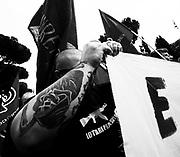 Corteo per celebrare l' Anniversario della Liberazione d'Italia.<br />  Roma - Arco di Costastino 25 aprile 2013. Matteo Ciambelli / OneShot