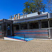 Baltimore, MD, USA - July 26, 2011: The Hollywood Diner was featured in several films, such 'Diner','Liberty Heights' and 'Sleepless in Seattle'.