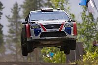 Motor<br /> WRC 2008<br /> Foto: Dppi/Digitalsport<br /> NORWAY ONLY<br /> <br /> MOTORSPORT - WRC 2008 - RALLY OF FINLAND - JYVASKYLA 31/07 TO 03/08/2008 <br /> <br /> ANDREAS MIKKELSEN (NOR) - OLA FLØENE / FORD FOCUS RS WRC - ACTION