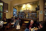 Barranco, nightlife.. Bar Piselli, cafeteria old style