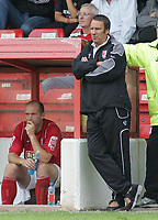 Photo: Paul Thomas.<br /> Walsall v Swansea. Coca Cola League 1.<br /> 27/08/2005.<br /> <br /> Paul Merson.